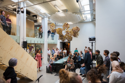 Opening Trainings for the Not-Yet bij BAK, basis voor actuele kunst, Utrecht, 14/15 september 2019, foto: Tom Janssen